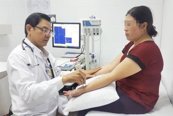 Khám tê bì chân tay tại Bệnh viện đa khoa Vạn Hạnh