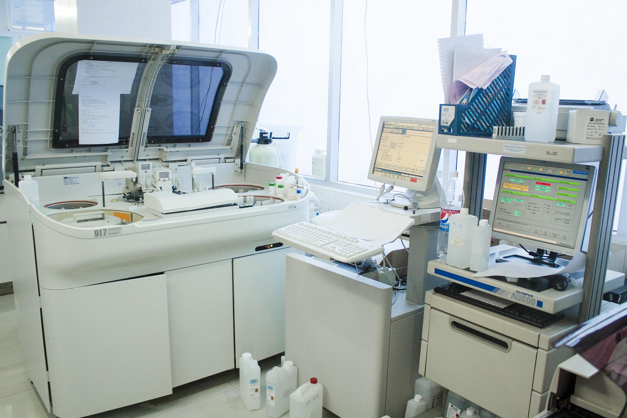 Trang thiết bị bệnh viện