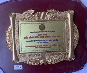 Giải thưởng hoa việc thiện
