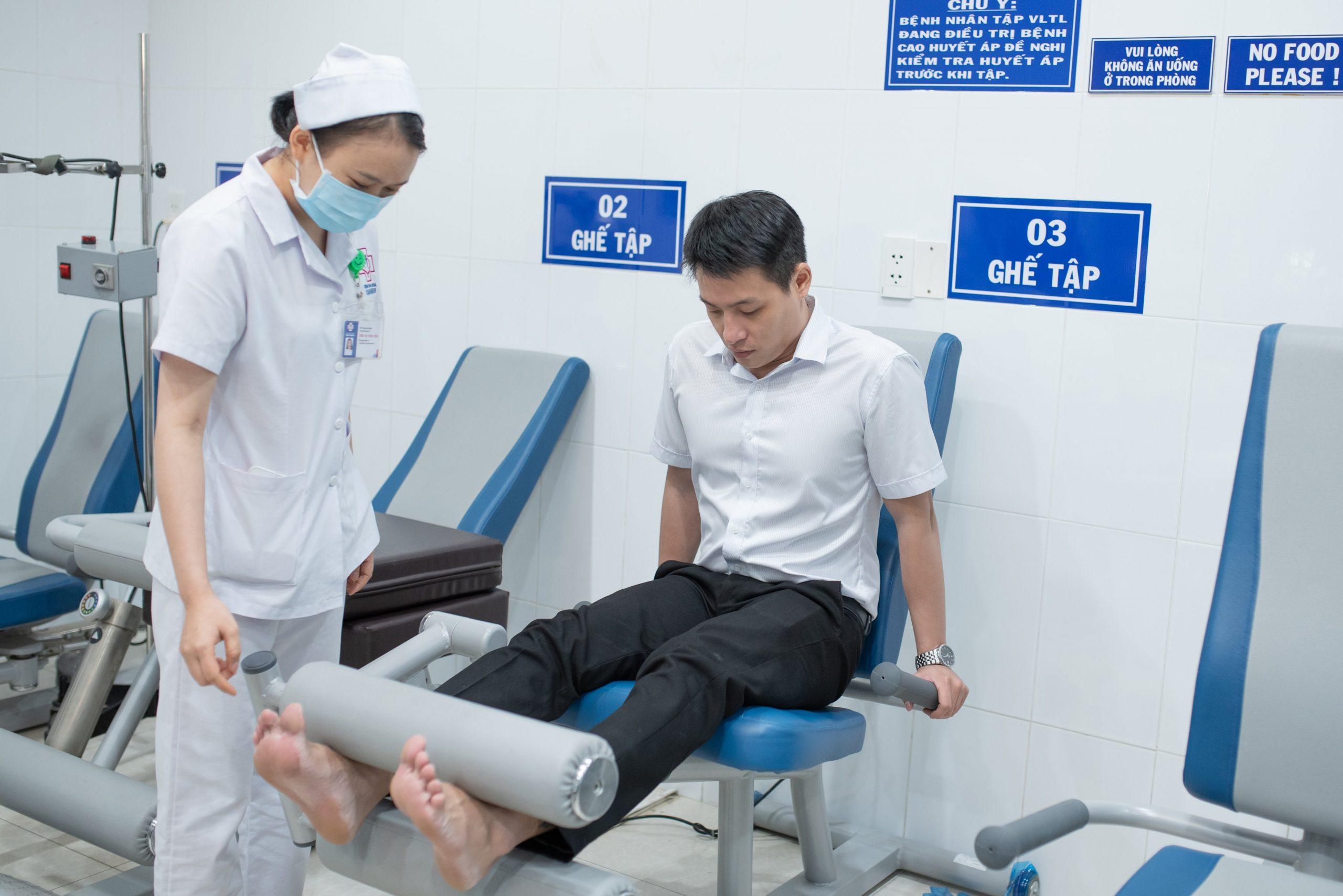 Vật lý trị liệu thái hóa khớp tại bệnh viện Vạn Hạnh